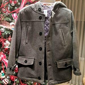 Boys Gymboree wool-blend coat